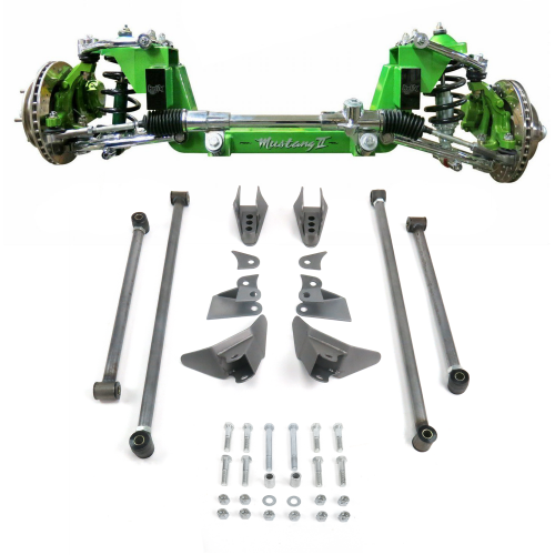 Complete Stage 2 56.5 Mustang II IFS And Triangulated 4-Link Combo Kit  instructions, warranty, rebate