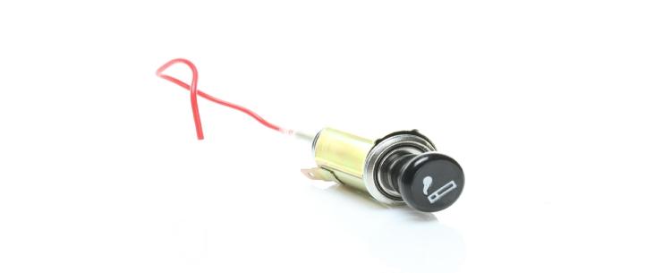 automotive cigarette lighter and 12 volt power port