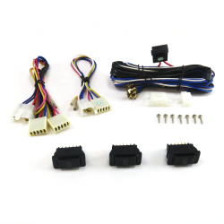 Power Window Switch Kit with  Three SW3 Switches - Part Number: AUT33RSO