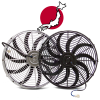 Asian Radiator Cooling Fan Kits - Part Number: 10015777