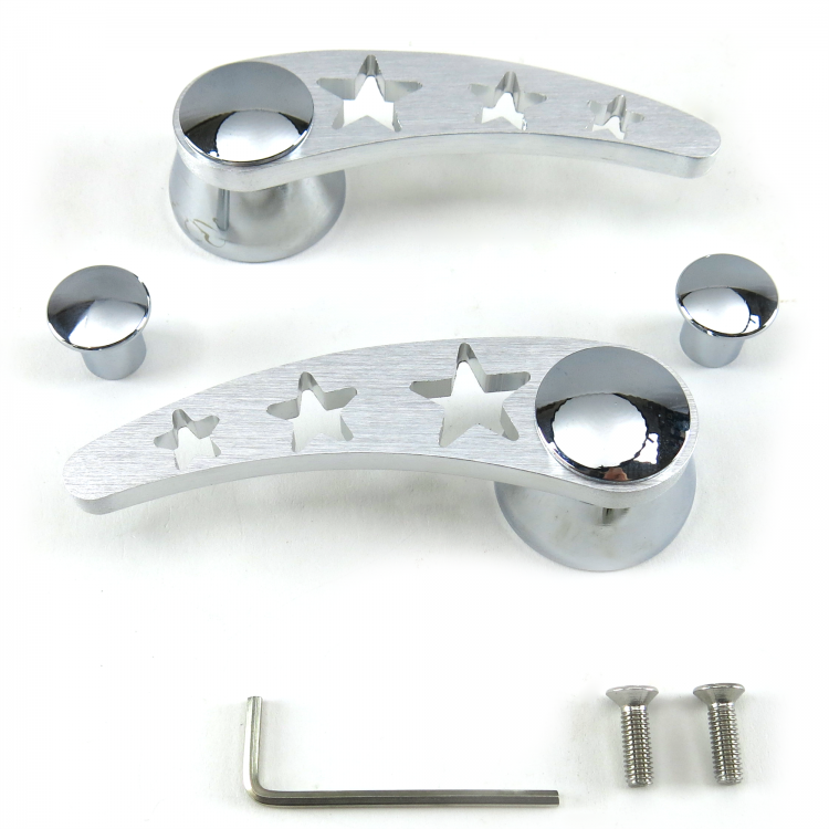 Auto Parts and Vehicles Pair Window Crank Handle Lever Gray W ...