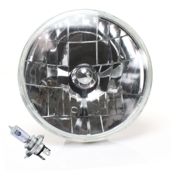 Snake-eye 7 Inch Halogen Lens Assembly w/ H4 bulb - Part Number: AUTLENA1AB