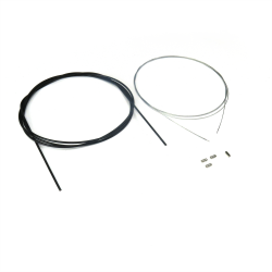 Universal Throttle Accelerator Cable Kit - 10 ft Long - hot rod buggy sandrail - Part Number: VPACABLEKIT