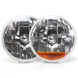 "Snake Eye Round 7"" Headlights - Part Number: 10016535"