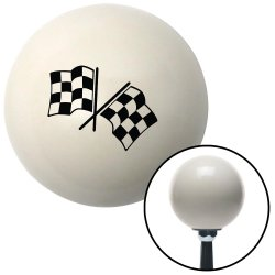 Dual Checkered Flags Shift Knobs - Part Number: 10019633