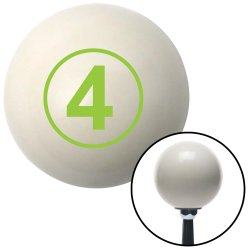 Number 4 Shift Knobs - Part Number: 10019642