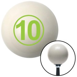 Number 10 Shift Knobs - Part Number: 10019644