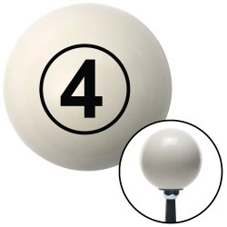 Ball #4 Shift Knobs - Part Number: 10019696