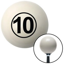 Ball #10 Shift Knobs - Part Number: 10019788