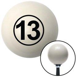 Ball #13 Shift Knobs - Part Number: 10019836
