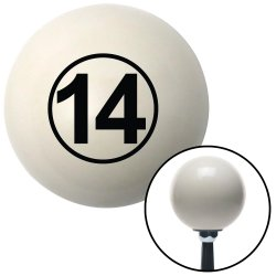 Ball #14 Shift Knobs - Part Number: 10019852