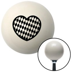Checkered Heart Shift Knobs - Part Number: 10020708