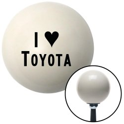 I <3 TOYOTA Shift Knobs - Part Number: 10021403