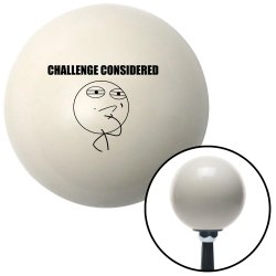 Challenge Considered Shift Knobs - Part Number: 10021498