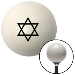 Star of David Shift Knobs - Part Number: 10022748