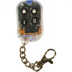 4 Button Tr4 Clear Remote Faceplate - Part Number: 4BRCCL