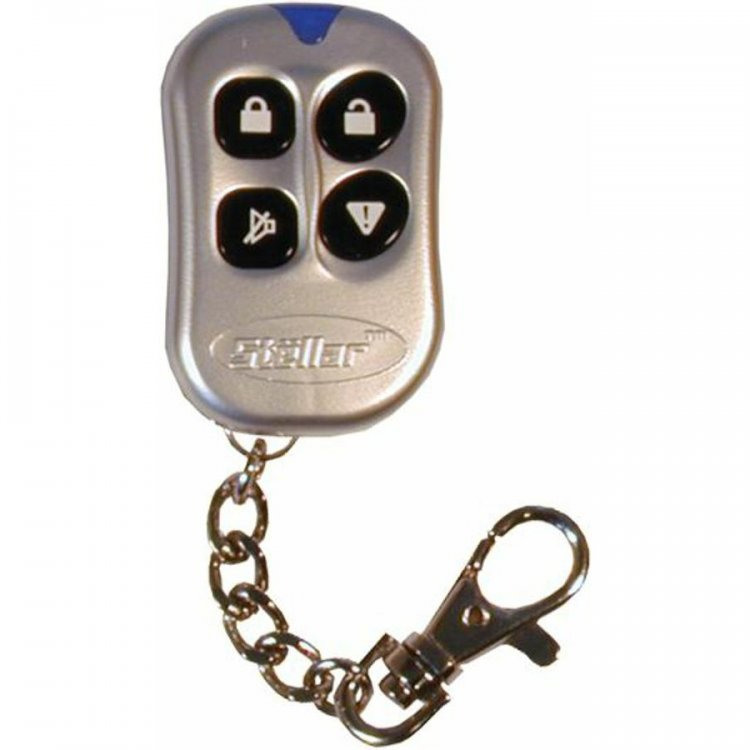 Stellar 129023 Alarms Remote Faceplate Chrome, 4BRCGR 4 Button Tr4