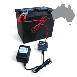 SmartCharge Battery Storage and Charging System - Australian Plug  - Part Number: KICSMARTCHG2