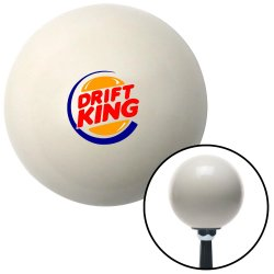 Drift King Logo Shift Knobs - Part Number: 10027630