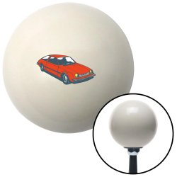 Hatchback Red Shift Knobs - Part Number: 10027929