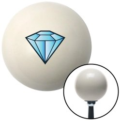 Diamond Blue Shift Knobs - Part Number: 10027987
