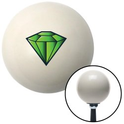 Diamond Green Shift Knobs - Part Number: 10027989