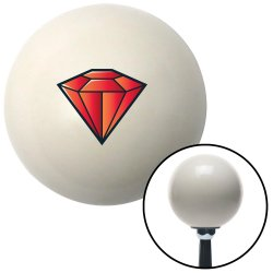 Diamond Red Shift Knobs - Part Number: 10027991