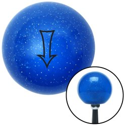 Fancy Directional Arrow Down Shift Knobs - Part Number: 10029271