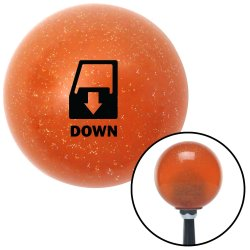 Window Down Shift Knobs - Part Number: 10036756