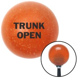 TRUNK OPEN Shift Knobs - Part Number: 10036847