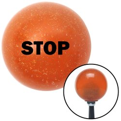 STOP Shift Knobs - Part Number: 10036861