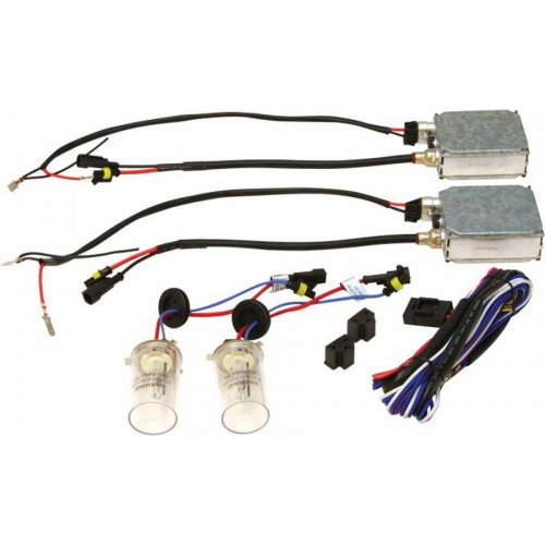Ion HID Xenon Plasma Headlight Conversion Kit / H4 Crystal Blue 10,000K Slim Ballast instructions, warranty, rebate