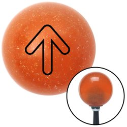 Bubble Directional Arrow Up Shift Knobs - Part Number: 10037303