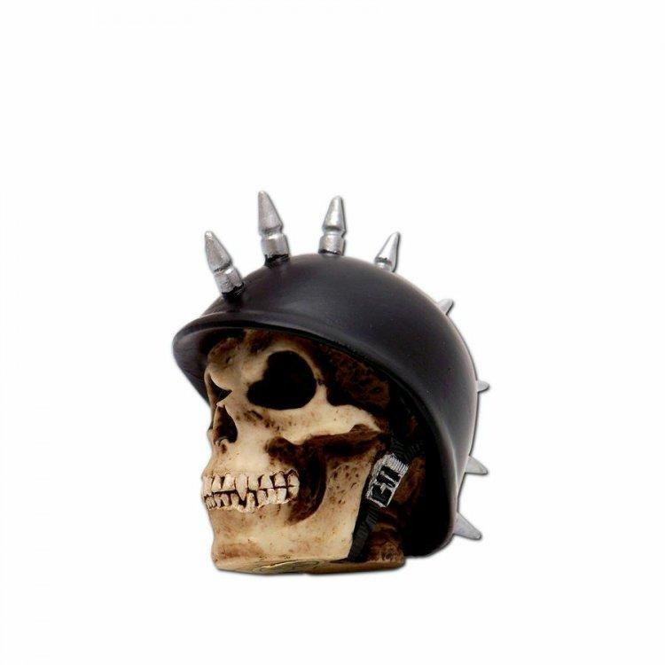 Vintage Parts 62717 Mohawk German Helmet Skull Custom Shift Knob//Topper