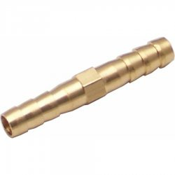 6mm Tube 2 Way Barb Air Fitting - Part Number: HEXAFWM6BXM6B
