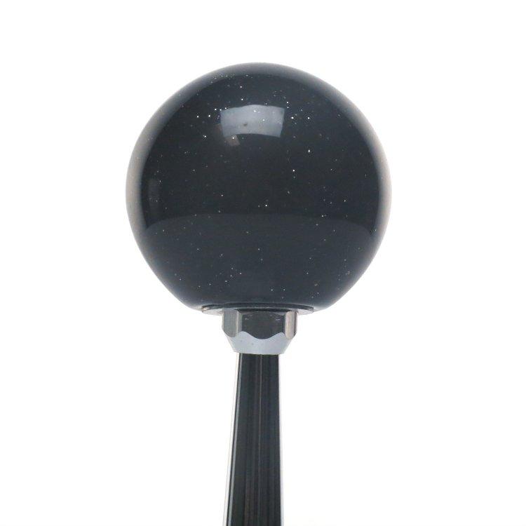 Flying Eyeball American Shifter 168529 Black Metal Flake Shift Knob with M16 x 1.5 Insert