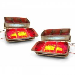 1968 - 1972 Oldsmobile Cutlass LED Tail Light Kit - Part Number: KICLEDU346872
