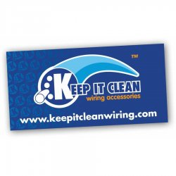 "24"" X 48"" Keep It Clean Logo Color Banner - Part Number: KICPROA001"