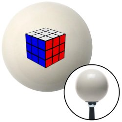 Rubiks Cube Shift Knobs - Part Number: 10070483
