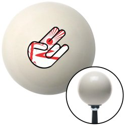 Rising Sun Bamboo Hand Shift Knobs - Part Number: 10070657