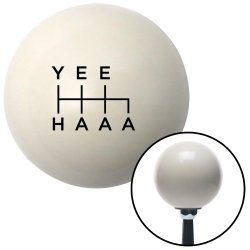 Yee Haaa Shift Knobs - Part Number: 10071593
