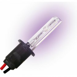 Two Ion HID 8,000 Color Temp H1 Single Stage Bulbs with Plug N Play Wire Harness - Part Number: IONBSH18