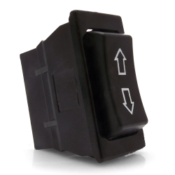3 Position Rocker Switch with Arrows - Part Number: KICSW1