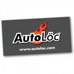 "24"" X 48"" Autoloc Logo Color Banner - Part Number: AUTPROA001"
