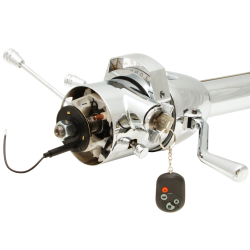 "Helix 33"" Chrome Steering Column Automatic with Built in Ignition Switch - Part Number: HEXSTCOLK1"
