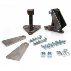 GM Universal Motor Mount Kit for Big and Small Block Chevy Engines - Part Number: HEXEBMA001