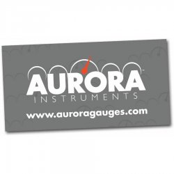 "24"" X 48"" Aurora Logo Color Banner - Part Number: AURPROA001"