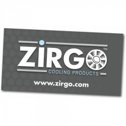 "24"" X 48"" Zirgo Logo Color Banner - Part Number: ZIGPROA001"