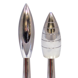Metal Bullet Spike Shift Knobs - Part Number: 10016875