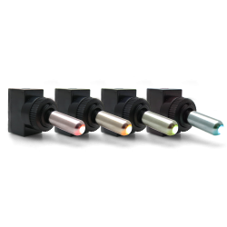 Aluminum Tip LED Toggle Switches - Part Number: 10017735